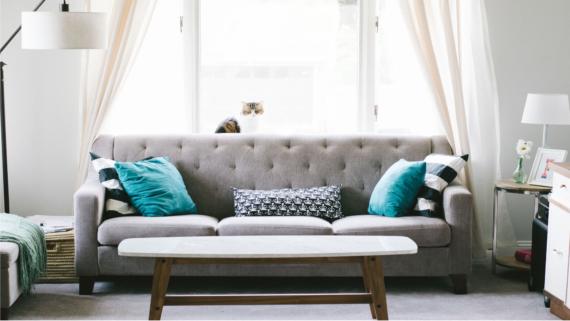 sofa - jak wybrać do małego wnętrza