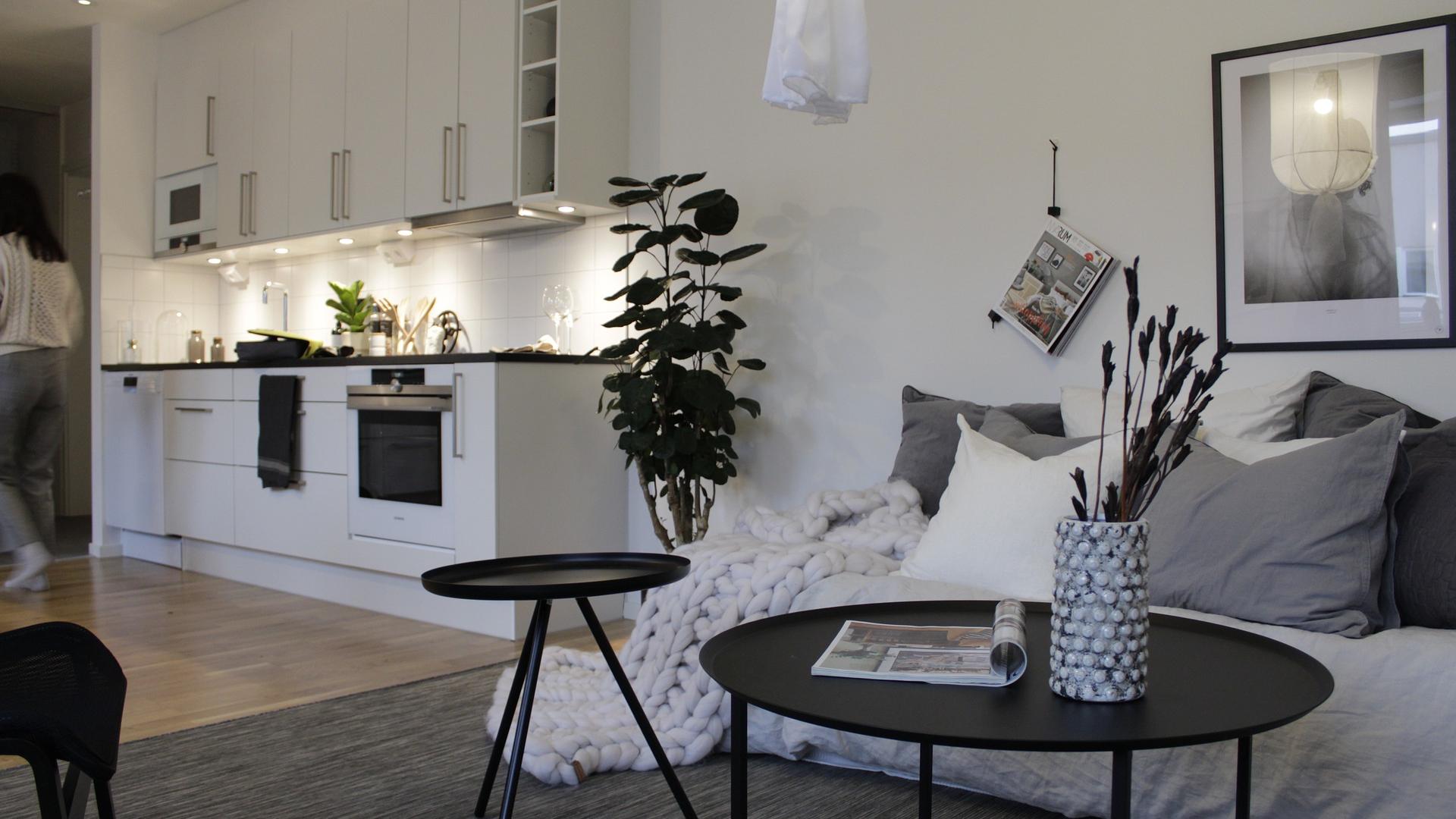 optyczne powiększenie małego mieszkania 1